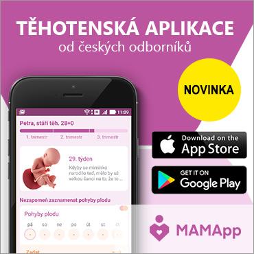 těhotenská aplikace MAMApp